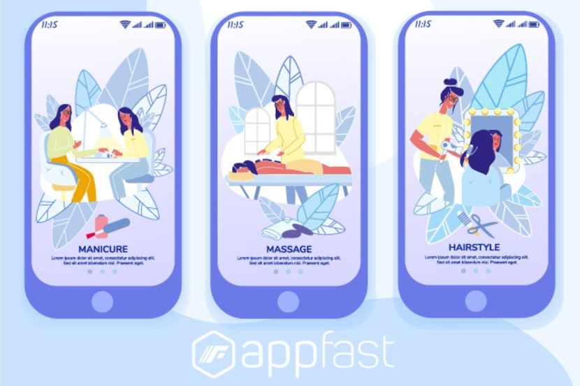 Enhance The Brand for Spa, Hair Salon with Appfast
