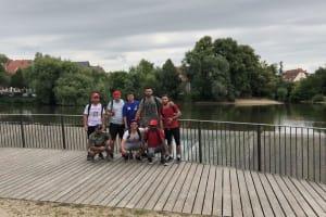 Die erste Gruppe in Nürtingen
