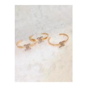 Bracelete Inspired Gold Chane - Folhado