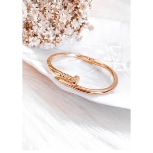 Bracelete Prego - Dourado