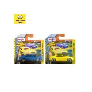 Combo Muscle Cars Dodge/Camaro - Maisto