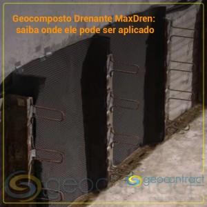 Onde o Geocomposto Drenante MaxDren pode ser aplicado?