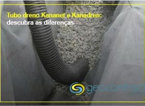 Diferenças entre os tubos drenos Kananet e Kanadren