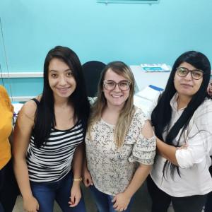 Da esquerda para direta: Gabriela, Paloma, Laiane, Taís e Natália - Foto: Leo Lima