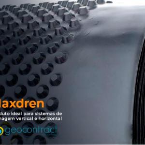 Conheça o MaxDren: produto ideal para sistemas de drenagem vertical e horizontal