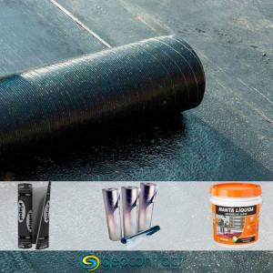 Entenda as diferenças entre a manta líquida, asfáltica e aluminizada