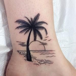Inspire-se: Tatuagens de praia