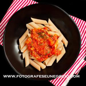 Fotografia de gastronomia - massas