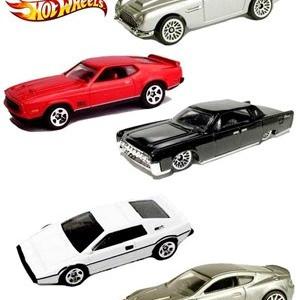 Coleção Hot Wheels James Bond