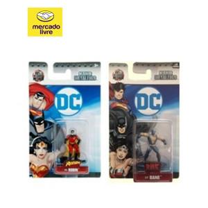 Combo bonecos Robin/Bane - Jada Toys