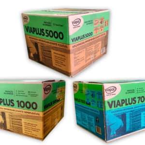 Você sabe a diferença entre os impermeabilizantes Viaplus 1000, 5000 e 7000?