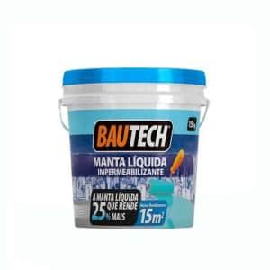 Bautech Manta Líquida Cinza  15KG