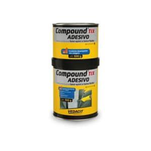 Compound Adesivo Tix 1Kg