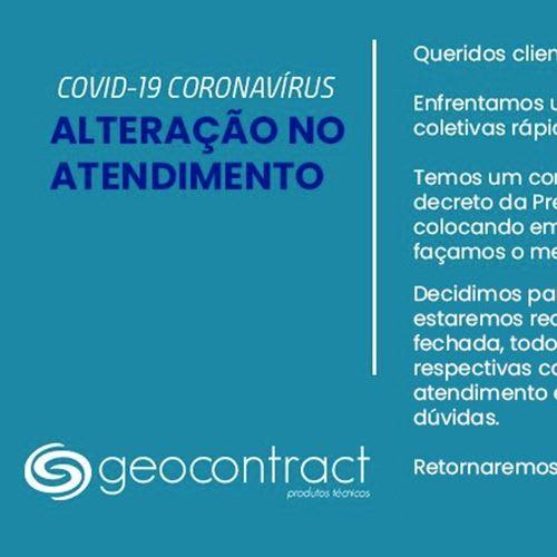 Funcionamento Geocontract | COVID-19