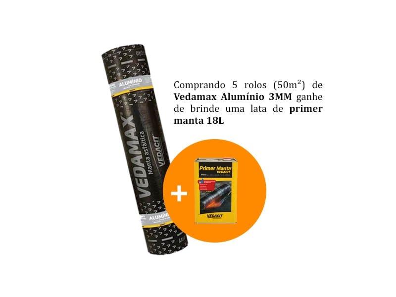 Vedamax Alumínio 3MM