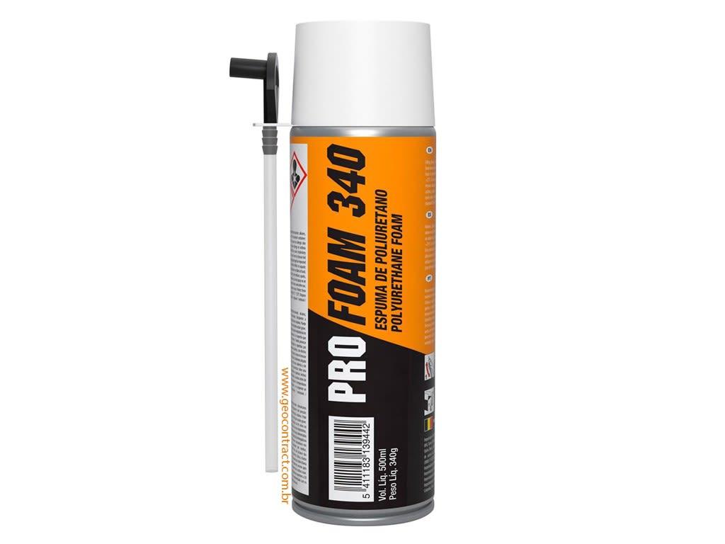 Espuma Expansiva PRO FOAM 340 Soudal 500 ml