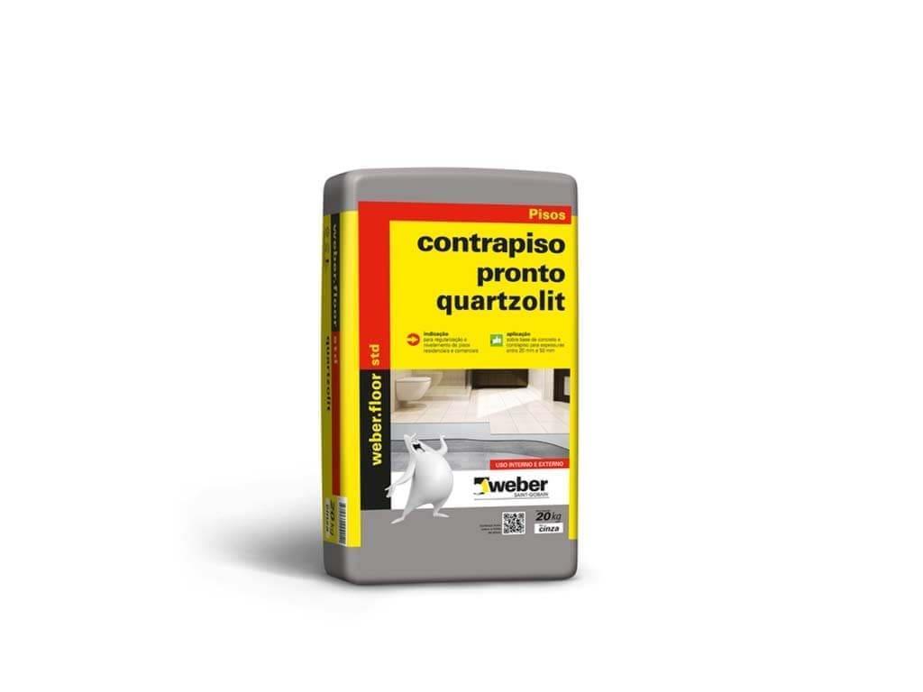 Contrapiso Pronto Quartzolit (Saco 30KG)
