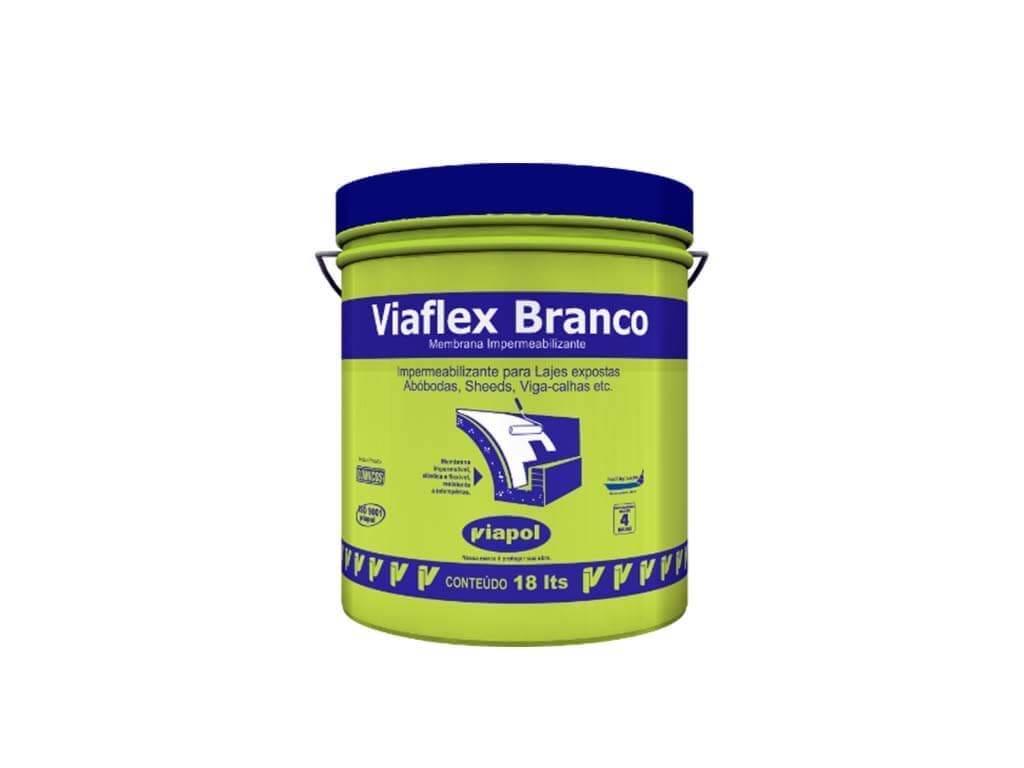 Viaflex Branco (Balde 18KG)