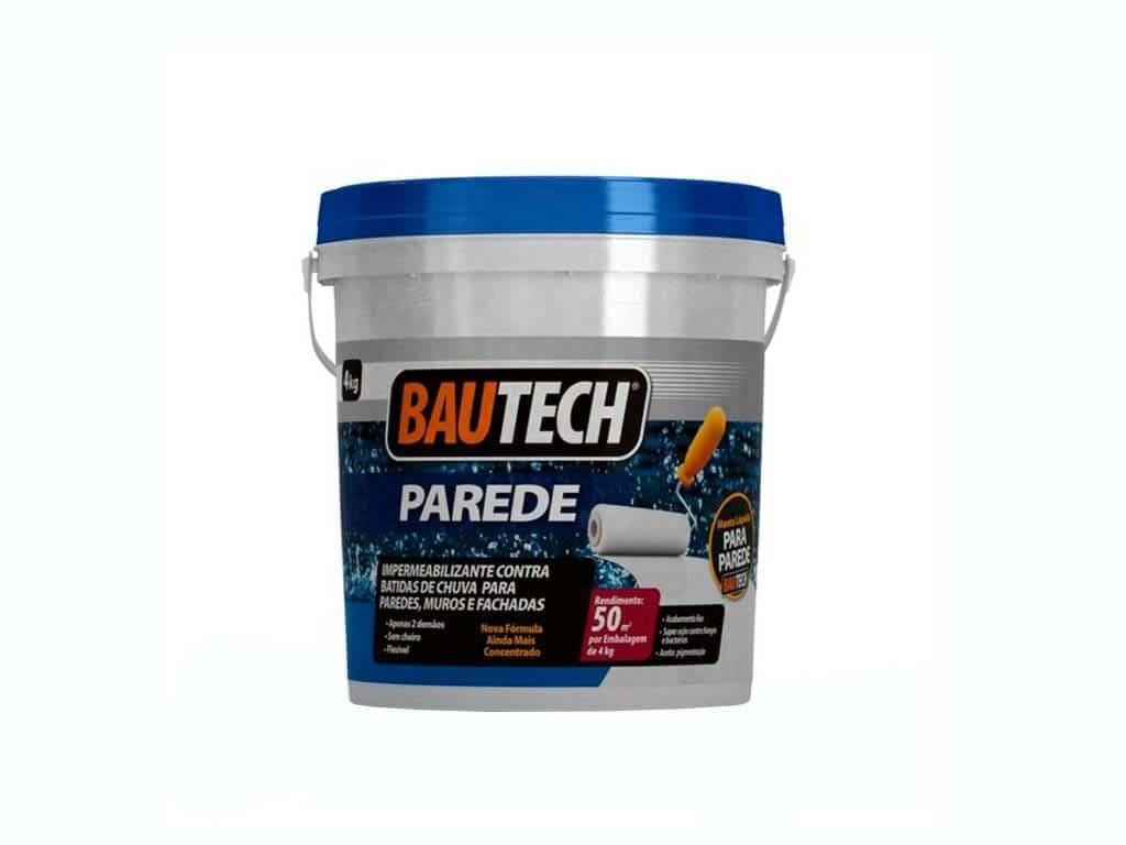 Impermeabilizante Bautech Parede Resina Acrílica 4Kg