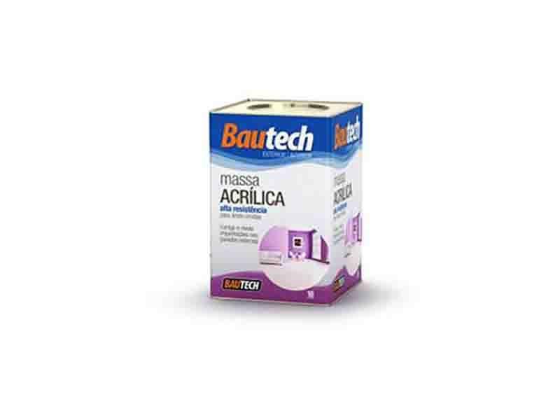 Bautech Massa Acrílica 18L