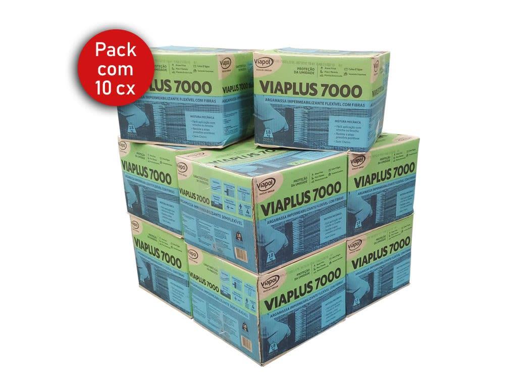 Pack com 10 Viaplus 7000 Fibras 18Kg