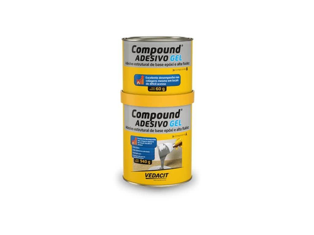 Compound Adesivo Gel 1Kg
