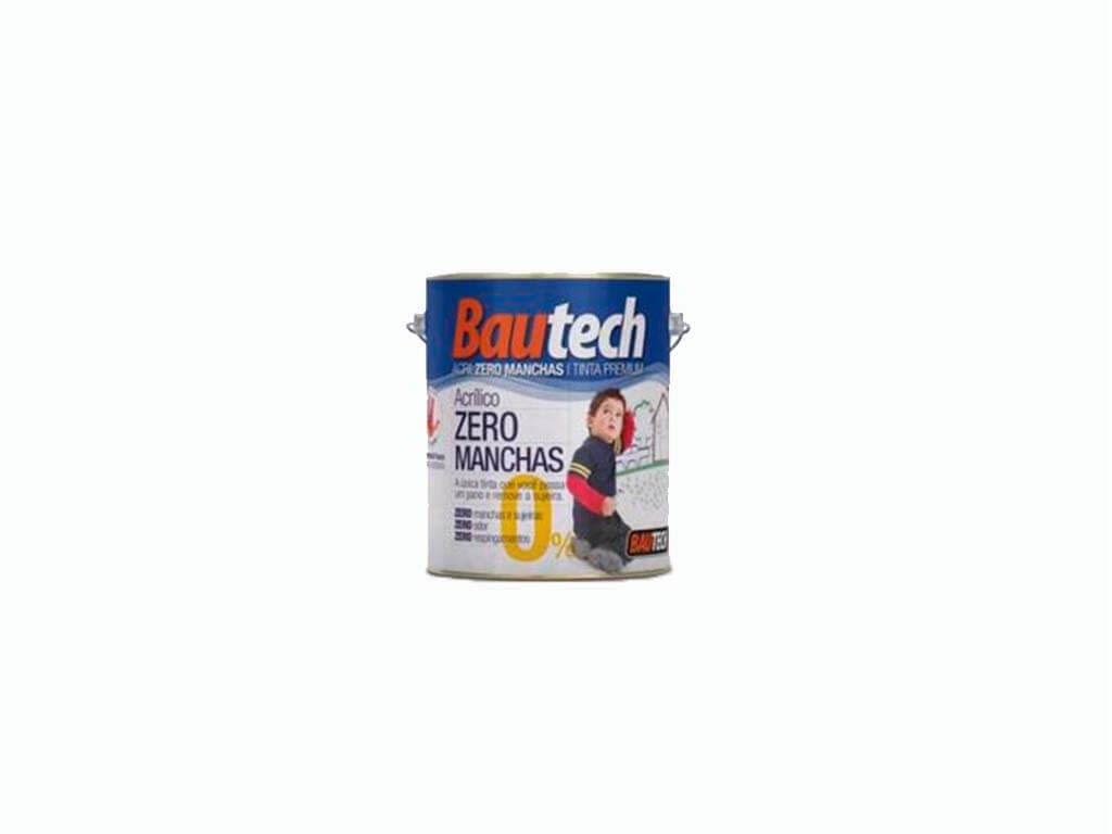 Bautech Tinta Acrílica Zero Manchas (Lata de 3,6L)