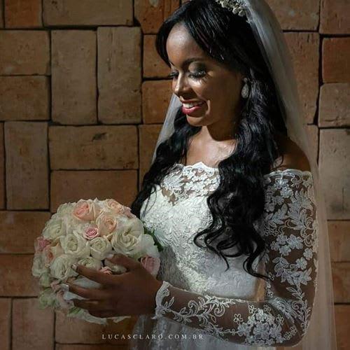 Quando usar vestido de noiva de manga longa