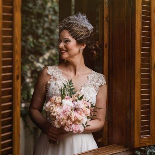 Acessórios para substituir o véu da noiva