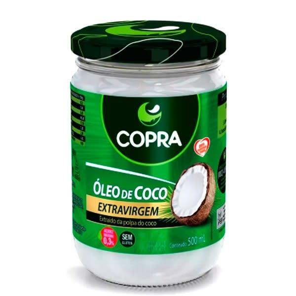 ÓLEO COCO EXTRA VIRGEM - 500GR