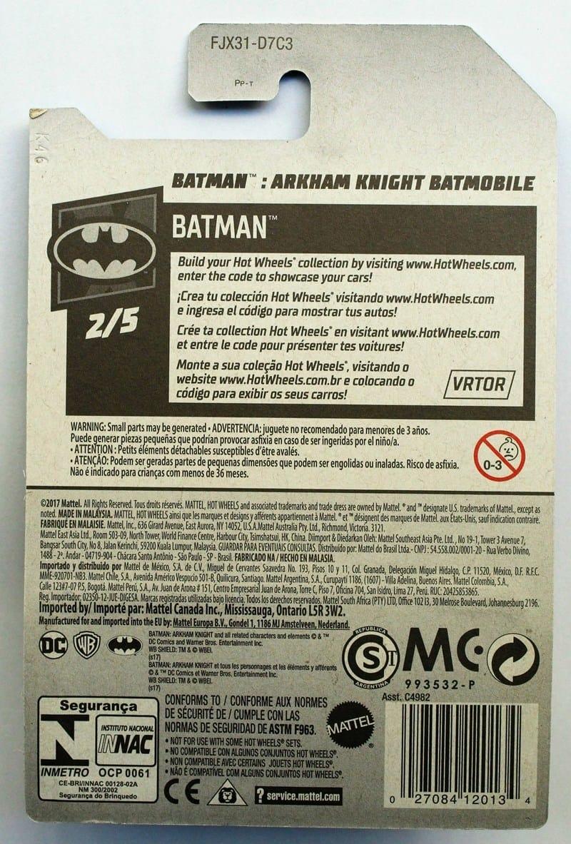 Arkhan Knight Batmobile - FJX31