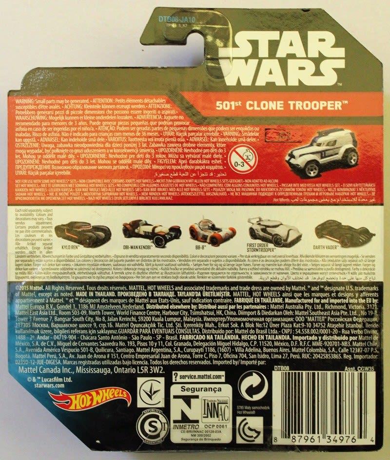 Star Wars 501st Clone Tropper - DTB08