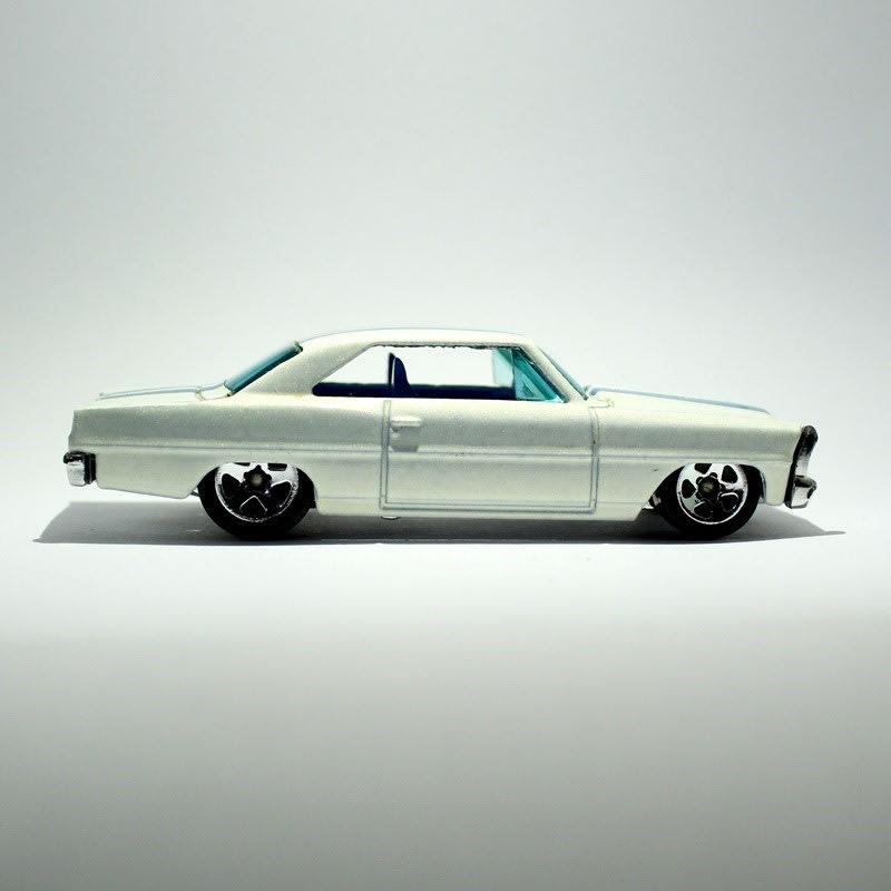 '66 Chevy Nova (pearl white) - K6141