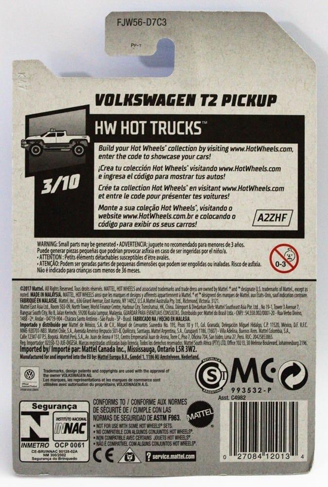 Volkswagen T2 Pickup - FJW56
