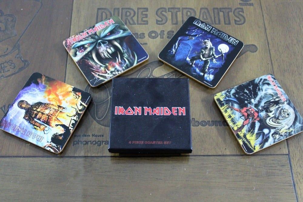 Porta Copos Iron Maiden