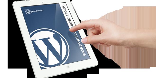 Afbeelding voor WordPress handleiding (eBook)