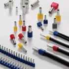 ENDEHYLSE M/ISOLERT KRAVE 2X0,75/10 HVIT (HL)