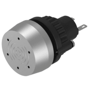 BUZZER METALLFRONT FOR CUTOUT Ø-22.5mm 24VDC. IP65