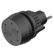 BUZZER PLASTFRONT FOR CUTOUT Ø-22.5mm 24VDC. IP65