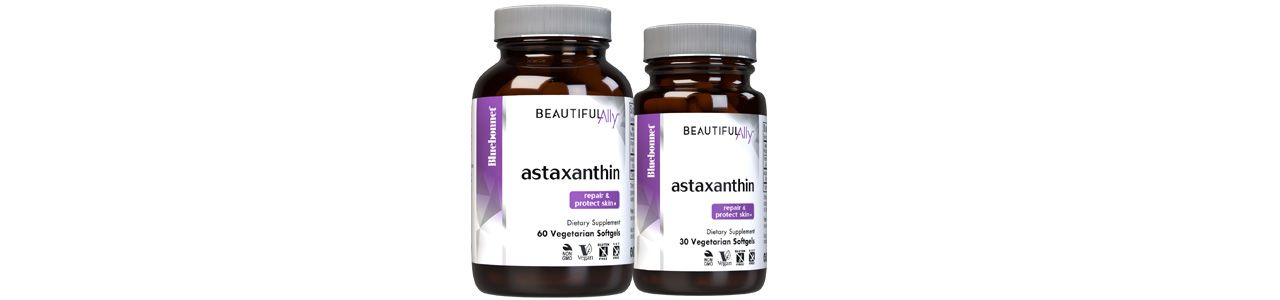 Bluebonnet's Beautiful Ally Astaxanthin Vegetarian Softgels