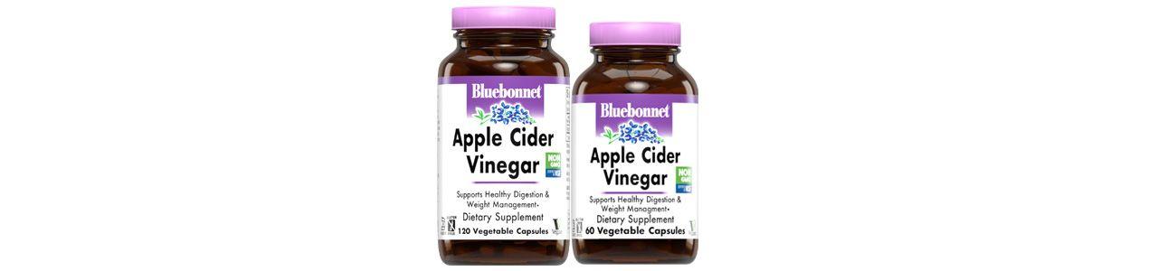 Bluebonnet's Apple Cider Vinegar Vegetable Capsules