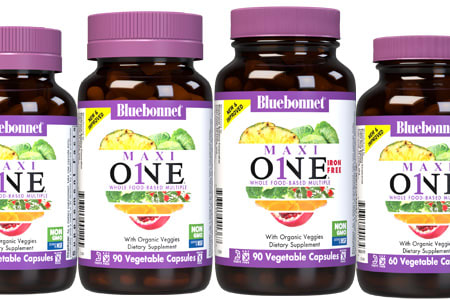 Bluebonnet's New & Improved Maxi ONE® Multiple Today's Higher Potency ONE