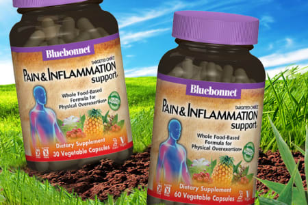 INTRODUCING PAIN AND INFLAMMATION SUPPORT*