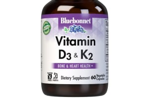 Bluebonnet's Vitamin D3 & K2 Vegetable Capsules