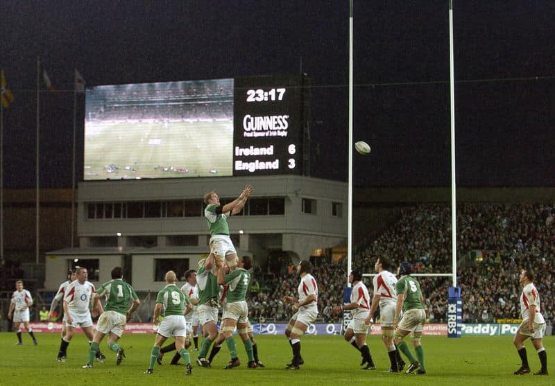 Ireland vs England - RBS 6 Nations Round 5