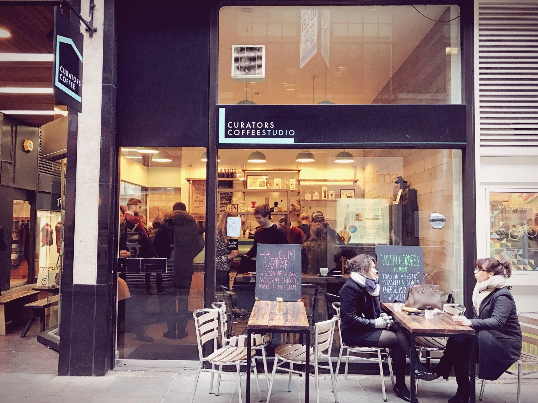 Currators Coffee Studio London
