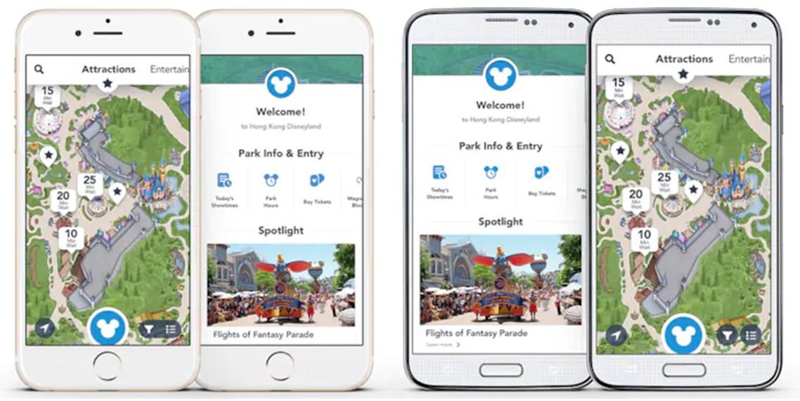 Aplikasi Tokyo Disneyland Apps