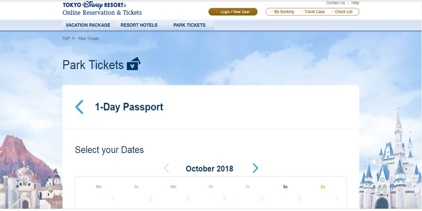 Tiket Online Disneyland
