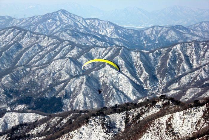 Paraglide Yangpyeoung Paragliding Park