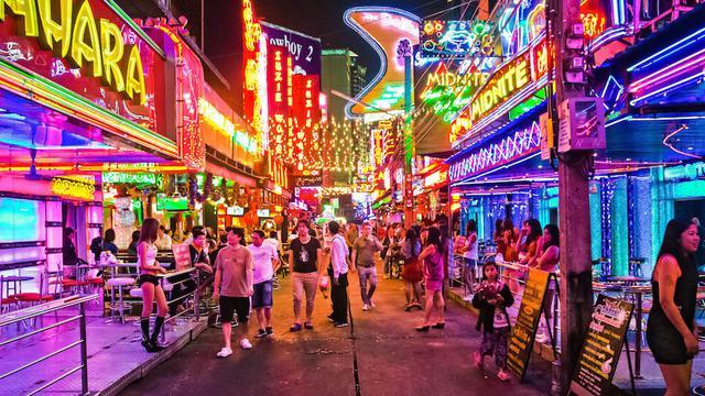 kehidupan malam thailand